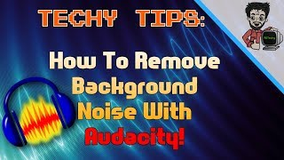 How To Remove Background Noise And Make Your Audio Crisp And Clear for FREE!| Techy Tips | RDTechy