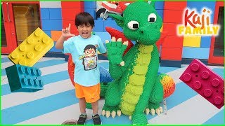Legoland Amusement Park Rides for Kids and Playground with Ryan's Family!!!