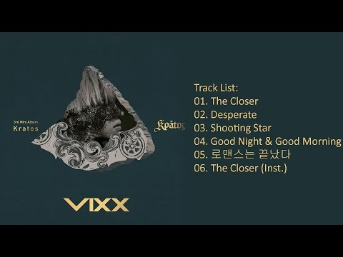 [Full Album] VIXX – Kratos (MIni Album)
