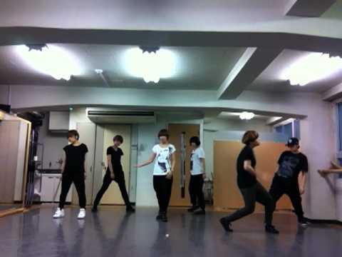 너의 세상으로(Angel)_EXO-K cover dance practice full ver 120817 by EXO-Q (Japanese girls)
