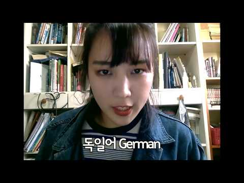 One girl with 5 FAKE languages /5 개국어로 아무말 대잔치?!