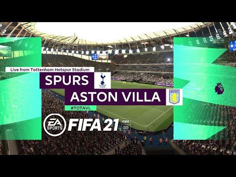 [미리보기] EPL 37R 토트넘 VS 아스톤 빌라 FIFA21(PS5)