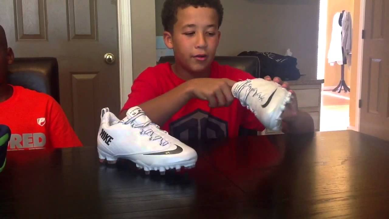 customize your own youth football cleats