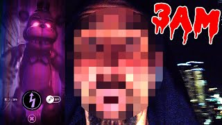⚠️FACECAM⚠️ DON'T PLAY FNAF AR: Special Delivery AT 3AM!! (I GOT IN TROUBLE)