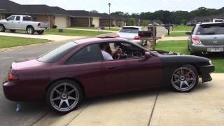 LS Swap 240sx First Drive
