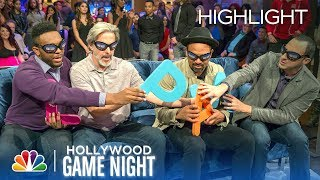 Fun with Foam Letters - Hollywood Game Night (Episode Highlight)