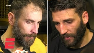 Zdeno Chara, Patrice Bergeron emotional after Bruins' Game 7 Stanley Cup Final loss | NHL on ESPN