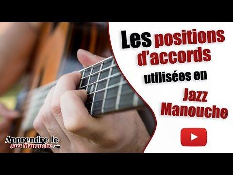 Les positions d'accords utilisées en Jazz Manouche - Apprendre le Jazz Manouche