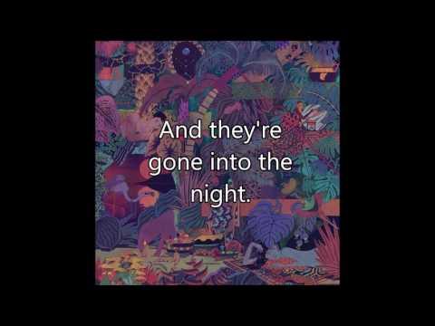 Glass Animals - Walla Walla (Lyrics on Screen)