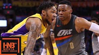 Los Angeles Lakers vs Oklahoma City Thunder Full Game Highlights / Feb 4 / 2017-18 NBA Season