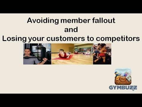 Avoiding member fallout and losing your customers to competitors
