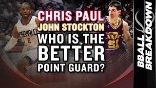 Chris Paul vs John Stockton: WHO IS THE BETTER POINT GUARD?
