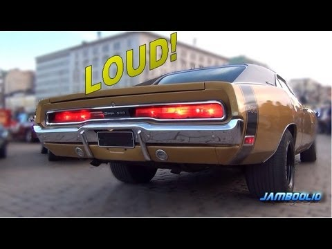 american muscle 1970 dodge charger 500 brutal v8 and exhaust sound youtube. Black Bedroom Furniture Sets. Home Design Ideas
