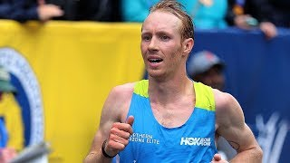 Scott Fauble is Top American at the 2019 Boston Marathon
