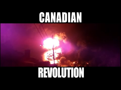 "Video: ""Canadian Revolution"" is both a musical assault on Harper's policies, as well as a diversely-illustrated effort to bring attention to under-represented election issues like climate change, poverty in Canada, and a push for proportional representation at the ballot box."