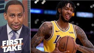Lakers should trade Brandon Ingram – Stephen A. | First Take