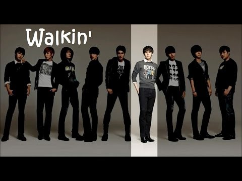Super Junior - Walkin' (English Lyrics)