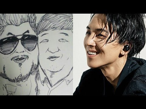 WINNER MINO DRAWING EACH OTHER (TRY NOT TO LAUGH)