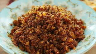 ஸ்ரீலங்கா ஸ்டைல் கட்டு சம்பல்  செய்வது பார்க்கலாம். How To Make Sri Lanka Style Fried Rice Sambal.