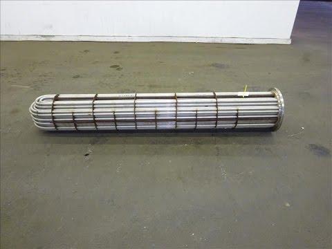 Used- Shell & Tube Heat Exchanger U Tube Bundle Only - stock # 48199003