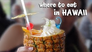 TOP 10 PLACES TO EAT IN HAWAII