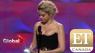 Selena Gomez's Emotional Billboard Speech | ET Canada