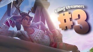 Killing Twitch Streamers #3 - Fortnite Battle Royale