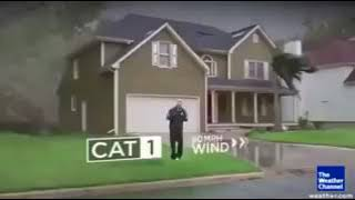 The differences in damage a category 1, 2, 3, 4, and; 5 hurricane can cause