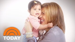 Watch Savannah Guthrie And Hoda Kotb Reflect On Motherhood | TODAY
