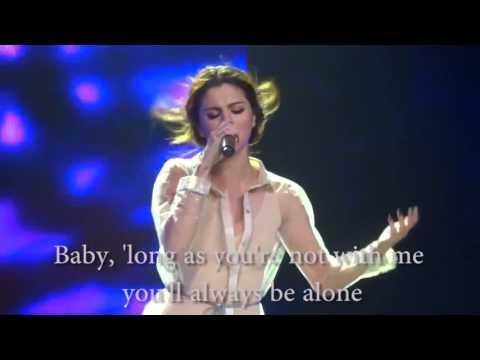 Selena Gomez - Feel me on Revival tour (lyrics)