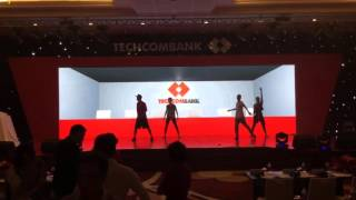 Hoàng Thông dance techcombank