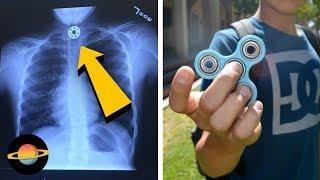 10 dziwnych historii związanych z fidget spinnerami