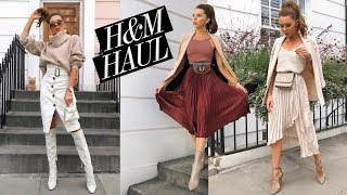 H&M HAUL & TRY ON // Transitional Prefall Autumn Haul