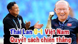 Việt Nam 1-0 Thái Lan   HLV Park Hang Seo & quyết sách về chiến thuật