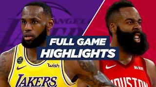 LAKERS vs ROCKETS - NBA HIGHLIGHTS | 2021 SEASON