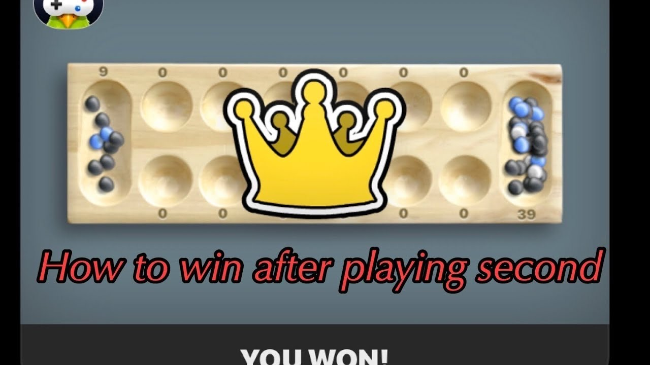 How To Win Mancala In One Move
