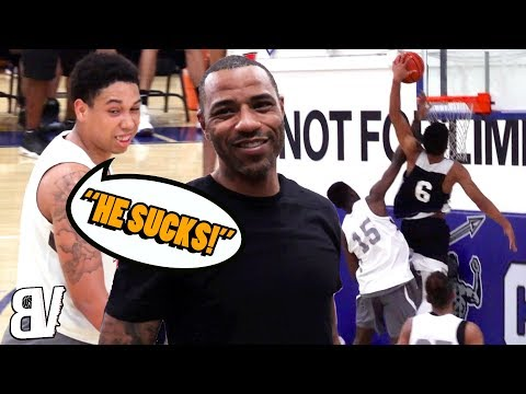 Player Tells Kenyon Martin His Son SUCKS! Son Responds With POSTER! Sierra Canyon WITHOUT Cassius!