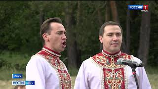 Артисты Омского народного хора выступили для врачей
