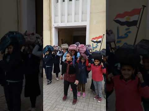 خطة اخلاء مدرسة موسى بن نصير الابتدائية - إدارة المعادي التعليمية