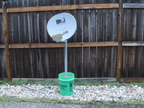 What Can I Use To Mount A Satellite Dish The Home Depot