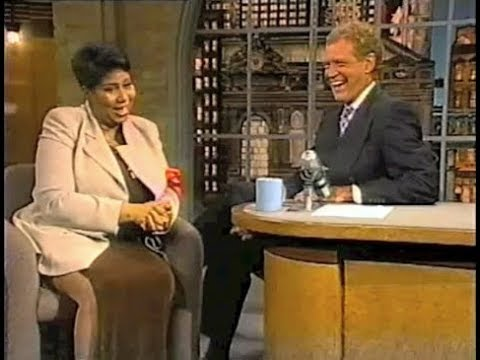 Aretha Franklin Collection on Late Show, 1994-2014 (full, stereo)
