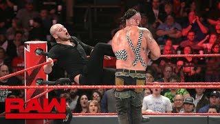 Braun Strowman vs. Baron Corbin - Tables Match: Raw, Feb. 18, 2019
