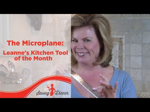 The Microplane: Leanne's Kitchen Tool of the Month