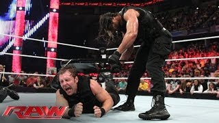 The Shield implodes: Raw, June 2, 2014