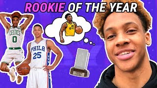 Romeo Langford, Cole Anthony & More Make Their ROOKIE OF THE YEAR Picks! Who You Got!? 😱