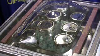 Vacuum Sealing a Canning Jar with a Commercial Chamber Unit