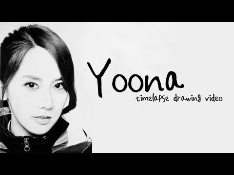 Im YoonA - Graphite Pencil Drawing