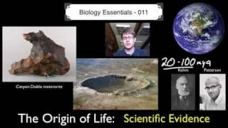 The Origin of Life - Scientific Evidence - YouTube