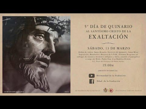 Quinto día de Quinario al Santísimo Cristo de la Exaltación