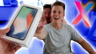 SURPRISING MY ROOMMATE WITH AN IPHONE X